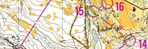 WOC Selection races - Middle distance